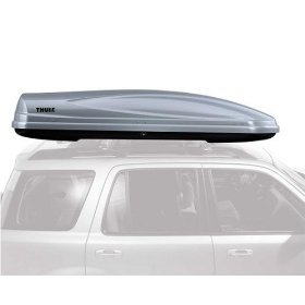 Show details of Thule 687 Atlantis 1800 Rooftop Cargo Box (Silver).