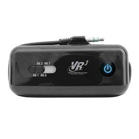 Show details of Roadmaster VRFM2 Wireless FM Transmitter for iPod and MP3 Players.