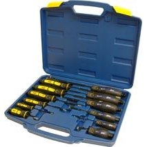 Show details of 12pc Mechanics Heavy Duty Screwdriver Set.