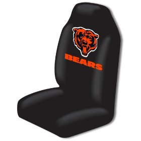Show details of Chicago Bears Car Seat Cover.