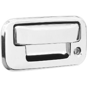 Show details of Putco 401016 Chrome Trim Tailgate Handle Covers.