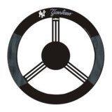 Show details of New York Yankees Mesh Steering Wheel Cover.