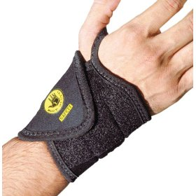 Show details of Body Glove 90101 Breathable Neoprene Adjustable Wrist Wrap with Thumb Loop, Black, Unisize.