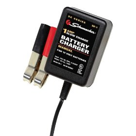 Show details of Schumacher SE-1 Trickle Manual Battery Charger - 1 Amp.
