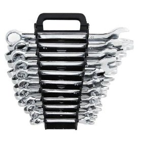 Show details of Mechanic's Complete 22-Piece Combination Wrench Set - SAE + Metric - Lifetime Warranty.