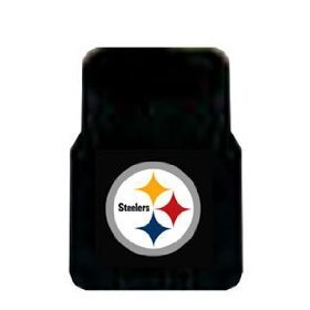 Show details of 2 Universal Front Floor Mats NFL Pittsburgh Steelers.