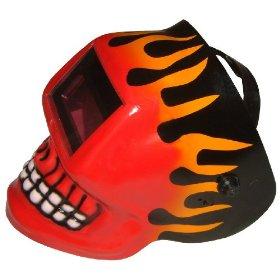 Show details of Skull Auto Darkening Welding Helmet.
