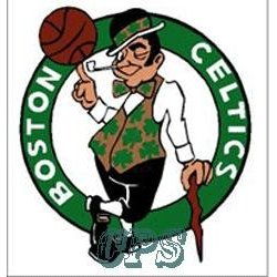 Show details of Boston Celtics Static Window Cling.
