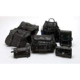 Show details of Genuine Buffalo Leather 7pc Motorcycle Luggage Set.