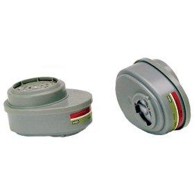 Show details of MSA Safety Works 817667 Replacement Cartridges for Multi-Purpose Respirator.