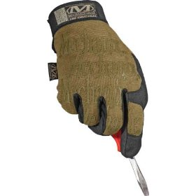 Show details of Mechanix Wear MG-72-008 Original Glove, Coyote, Small.