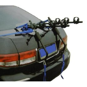Show details of 3-Bike Rack for Cars - Easy On & Off - Folds Flat for Storage.