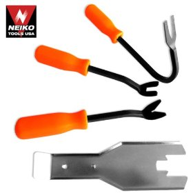 Show details of 4-Piece Car and Truck Door Service Tool Set.