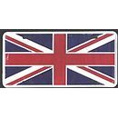 Show details of Great Britain Flag License Plate (Union Jack).