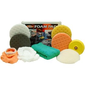 Show details of Dual Action Deluxe CCS Foam Pad Kit.