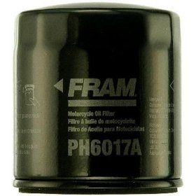 Show details of Fram PH6017A Motorcycle Oil Filter.