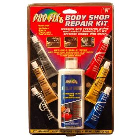 Show details of Dura Lube HL-48901-06 Pro Fix 6 Body Shop Repair Kit.