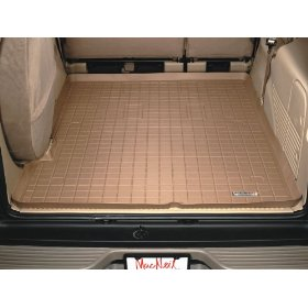 Show details of WeatherTech 41325 Tan Rubber Cargo Liner.