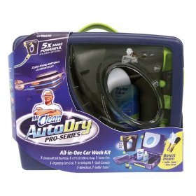 Show details of Mr. Clean AutoDry Pro-Series All-in-One Car Wash Kit.