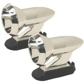 Show details of Custom Accessories CU017381 Chrome Deer Alert. 2 pack.