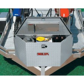 "Show details of Delta 410000 Single-Lid 48"" Trailer Tongue Box."