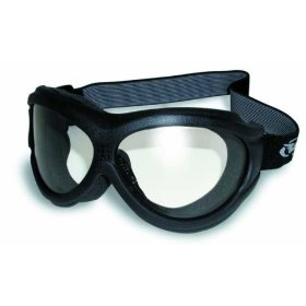 Show details of Global Vision Big Ben Goggles Fit Over Glasses Clear and Smoke Touring Kit.