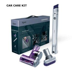 Show details of Dyson Car Care Cleaning Kit.