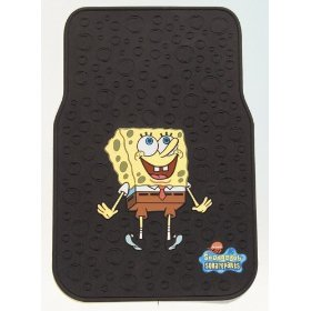 Show details of Sponge Bob Squarepants 2-Pc Floor Mat Set.
