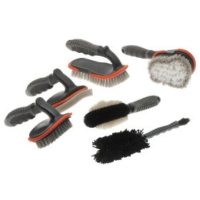 Show details of Detailer's Choice 6-Piece Brush Detailing Kit.