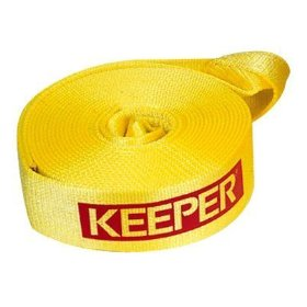 "Show details of Keeper 02923 Vehicle Recovery Strap With Loops 2""x 30' 10,000 lbs Vehicle Wt.."
