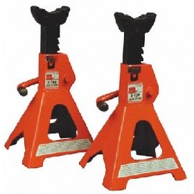 Show details of Key Parts T43002 1 Pr 3 Ton Jack Stand Blk.
