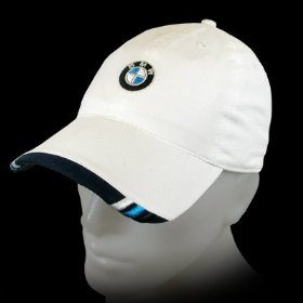 Show details of BMW Active White Baseball Cap.