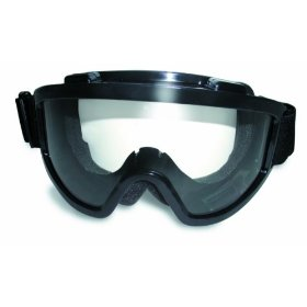 Show details of Global Vision Windshield Off Road Goggles Fit Over Glasses Clear and Smoke Kit.