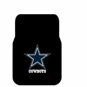 Show details of 2 Universal Front Floor Mats NFL Dallas Cowboys.