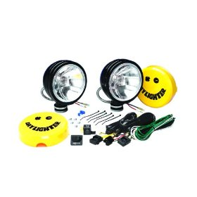 Show details of KC HiLiTES 634 Daylighter - 6 In Black 130w Driving Beam Off Road Light System (Pair).