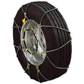 Show details of Security Chain Company SZ335 Super-Z6 Tire Chains, 1 Pair, For Select Passenger Vehicles.