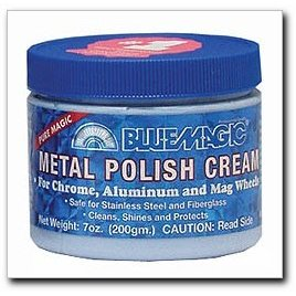 Show details of Blue Magic 400 7oz Metal Polish Cream.