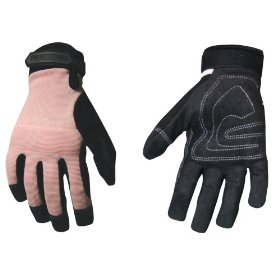 Show details of Youngstown Glove Co. 05-3800-20-S Women's Garden Glove, Performance Glove, Small, Pink.