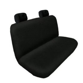 Show details of Universal CAR Seatcover ...Bench Seat Cover Solid Black.