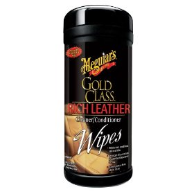 Show details of Meguiar's G-10900 Rich Leather Wipes.
