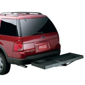 Show details of Lund 601010 Hitch-Mounted Cargo Carrier.