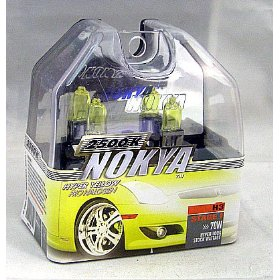 Show details of Nokya Arctic Yellow H3 Headlight Bulb (Stage 1).