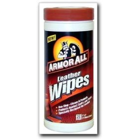 Show details of ArmorAll 10881 Leather Wipes.
