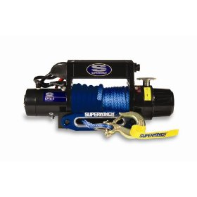 Show details of Superwinch 09034SR EPI9.0 Recovery winch with synthetis rope.