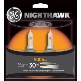 Show details of GE 9006NH/BP2 Nighthawk Automotive Replacement Bulbs - Pack of 2.