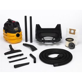 Show details of Shop-Vac 587-25-00 Hawkeye 5-Gallon 5.5-Horsepower Wet/Dry Vacuum with Wall Mount Bracket.