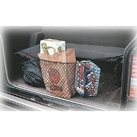 Show details of Highland 95012 Black Hammock Style Storage Net.