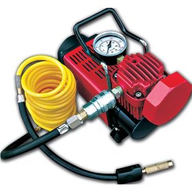 Show details of Master Flow MF-1050 Tsunami High Volume Portable Air Compressor.