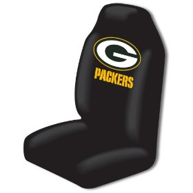 Show details of Green Bay Packers Car Seat Cover.