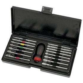 Show details of KD Tools 8916 16 Piece GearDriver Combination Nut Driver Set.